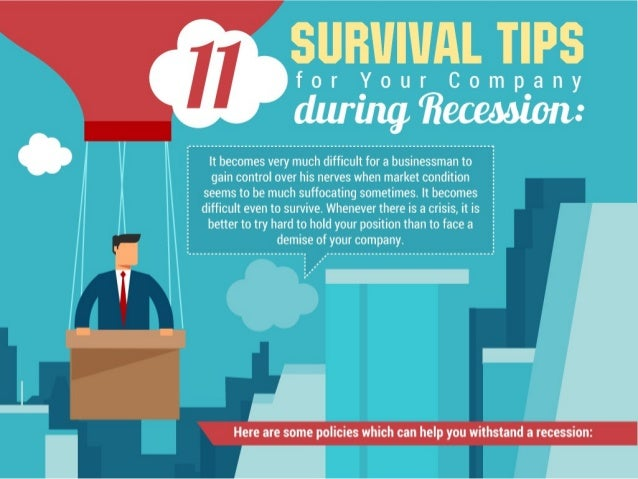Survival tips during recession