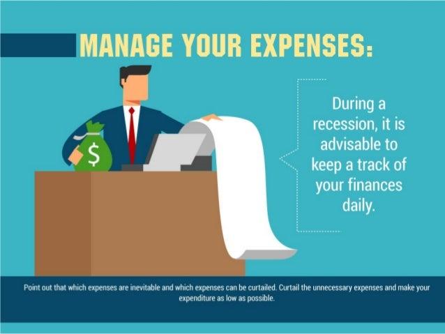 Survival tips during recession Slide 3
