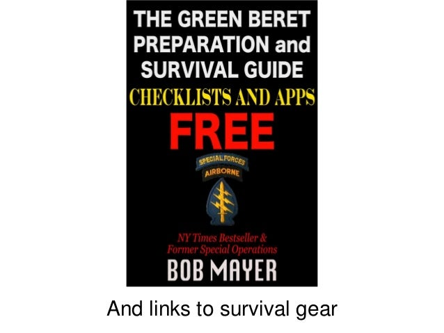 And links to survival gear