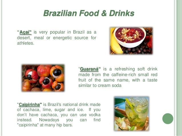 Brazil Culture Food And Drinks