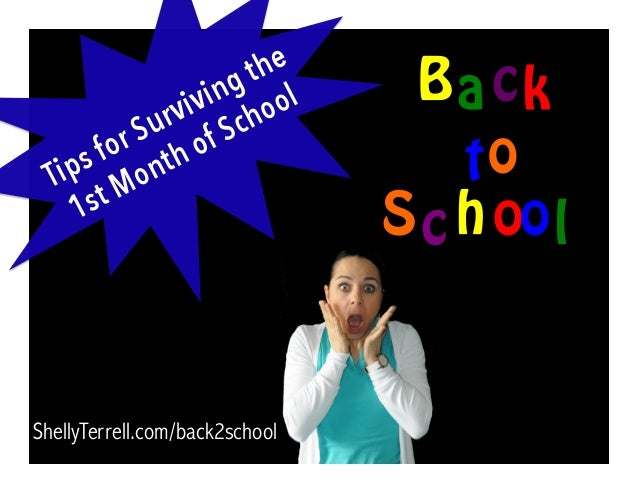 ShellyTerrell.com/back2school