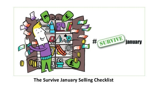 The Survive January Selling Checklist