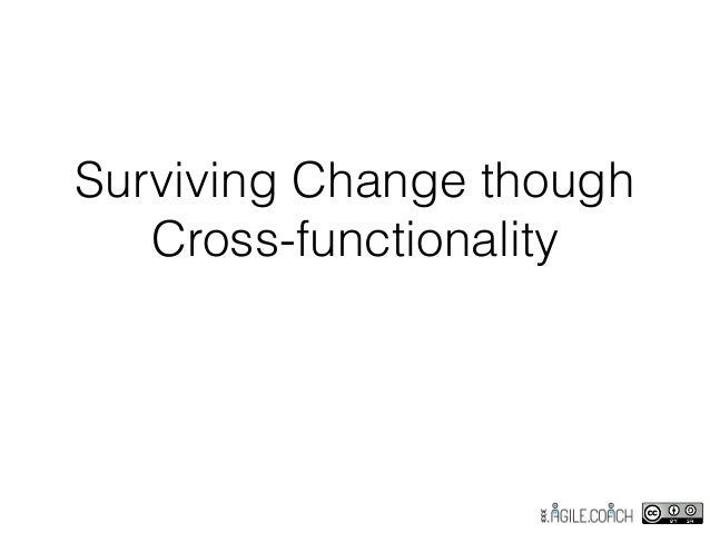 Surviving Change though Cross-functionality