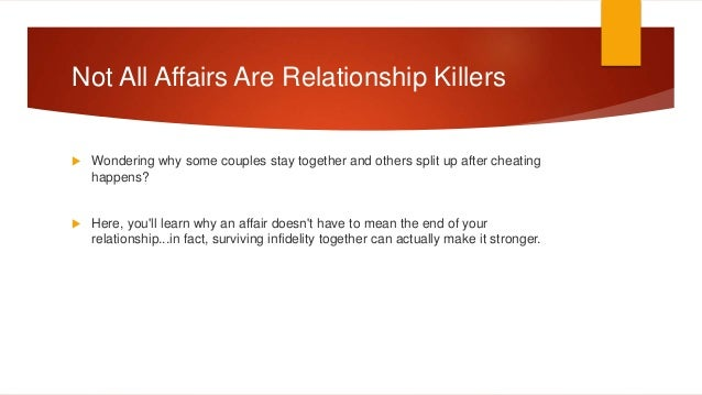 A Proven Recipe For Successfully Surviving Infidelity Together