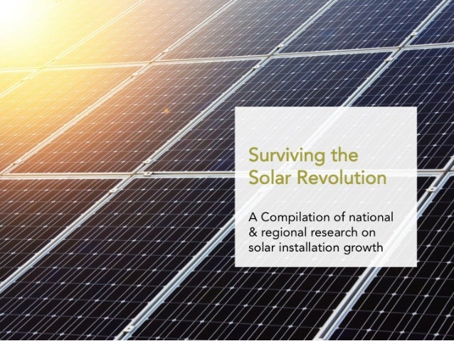 Surviving the Solar Revolution