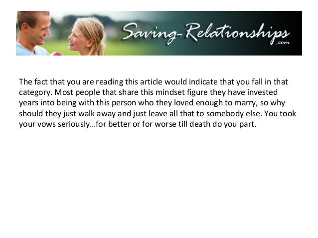 Surviving an Emotional Affair - Steps to Save Your Marriage