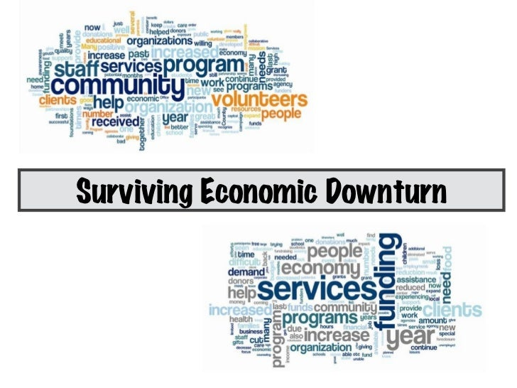 motivation in economic downturn for surviving An economic downturn can force us to change direction maybe we will lose our  job or are faced with declining incomes unforced change is.