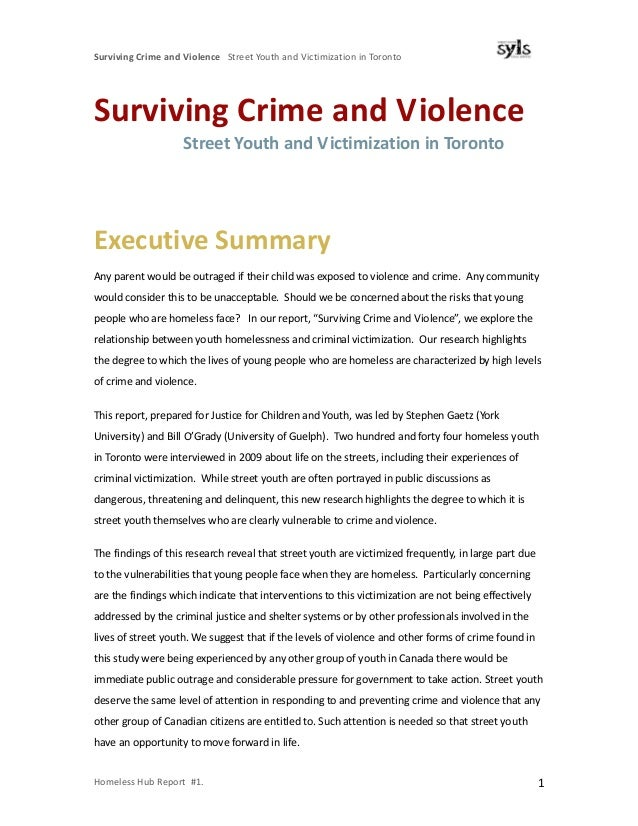 crime and victimzation Crime in schools, the national center for education statistics (nces) collects  data on student criminal victimization through its sponsorship of the school  crime.