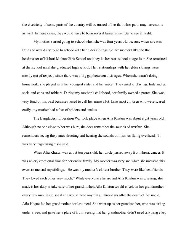 essay on returning home poem