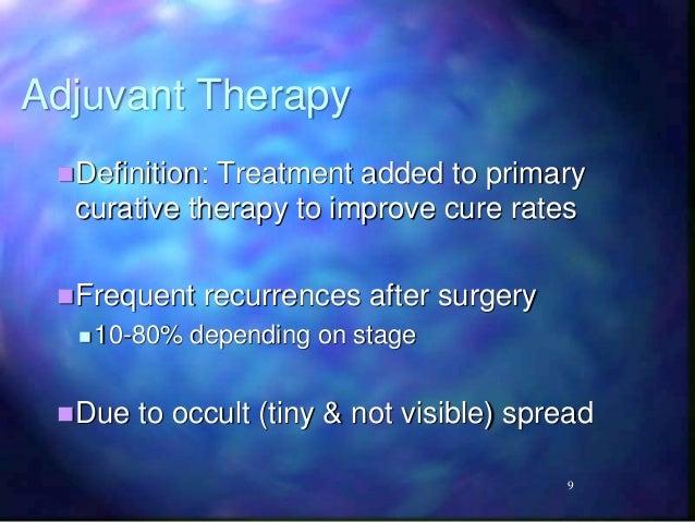 Adjuvant therapy - Wikipedia