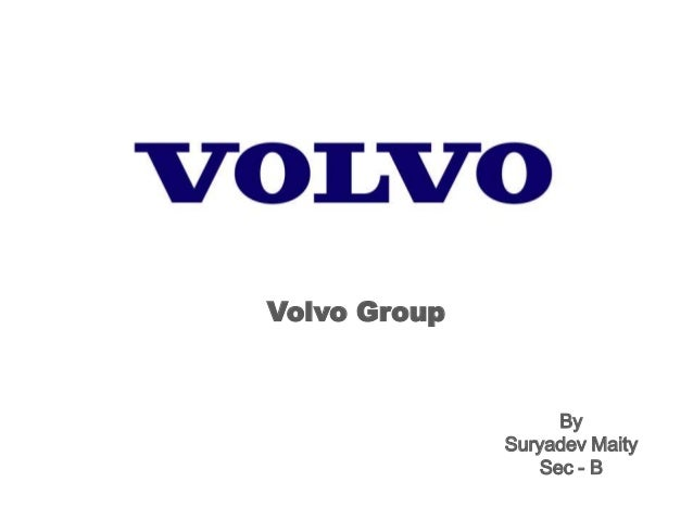 Volvo Group By Suryadev Maity Sec - B