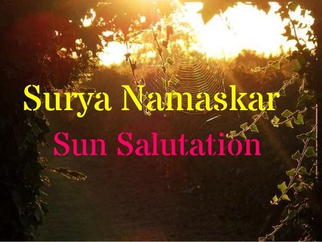 Surya NamaskarSun Salutation