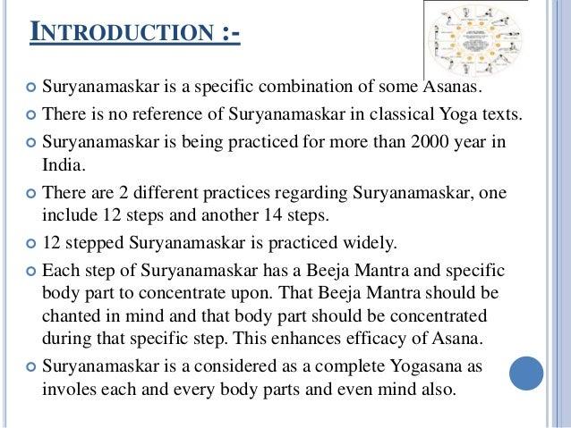 Surya Namaskar as a complete yoga Slide 3