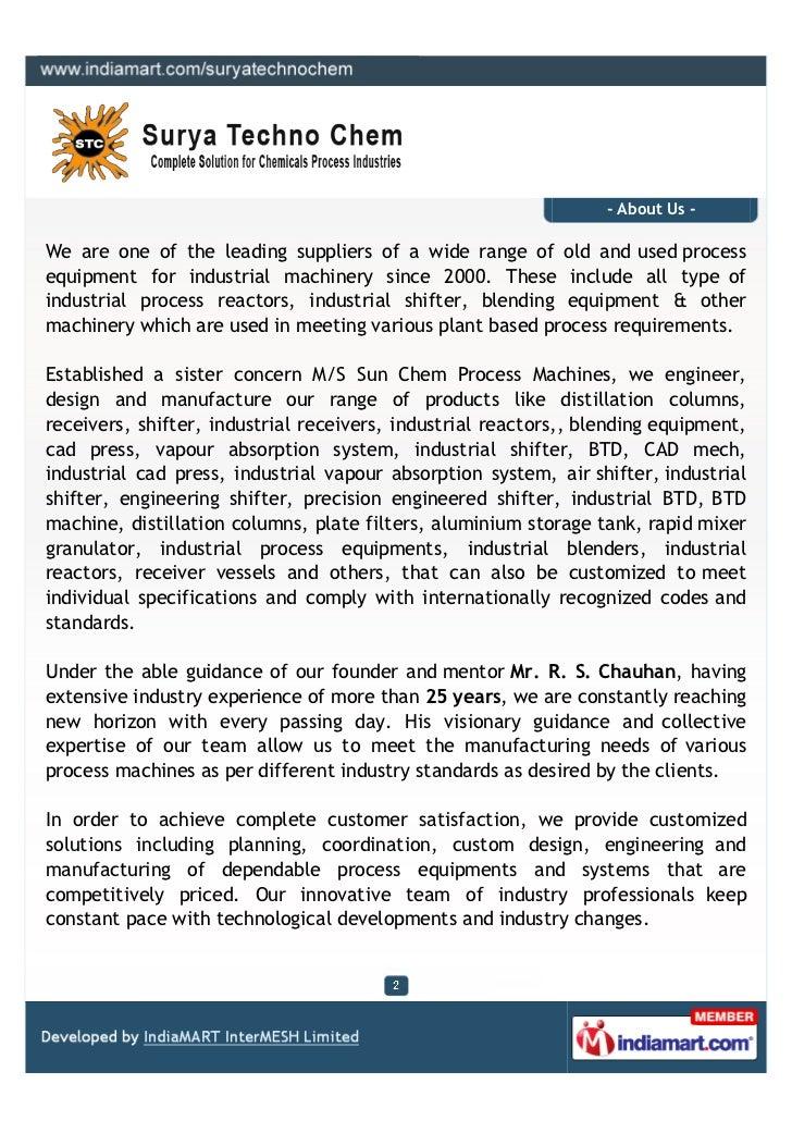 Surya Techno Chem, Ghaziabad, Industrial Blenders