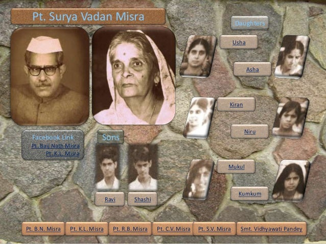Pt. Surya Vadan Misra                                                                  Daughters                          ...