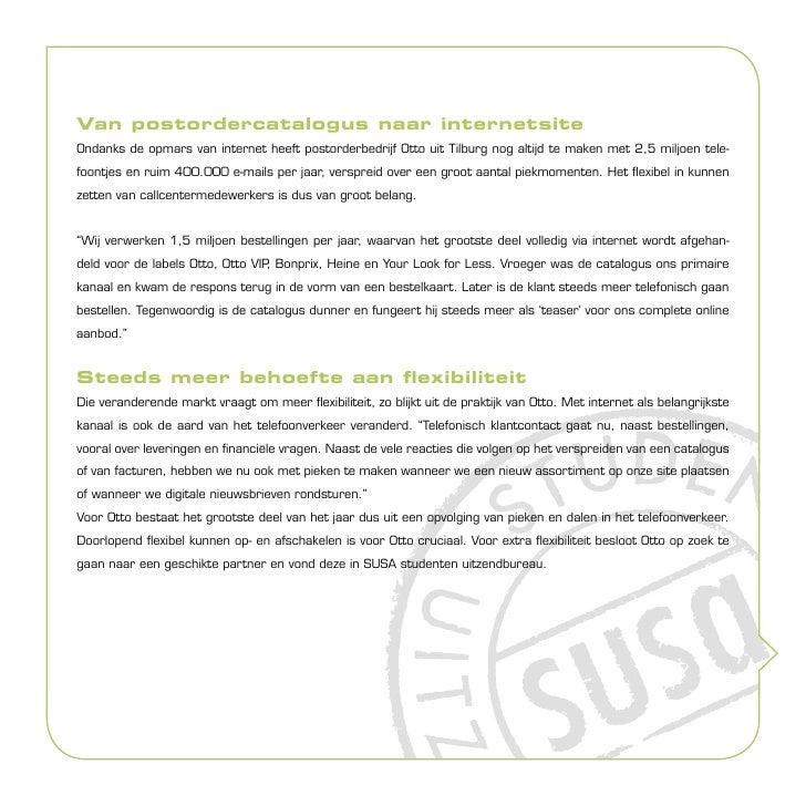 Otto over de samenwerking met SUSA Slide 2