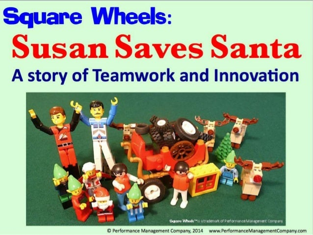 """Square Wheels:   A story of Teamwork and Innovation  Same VW
