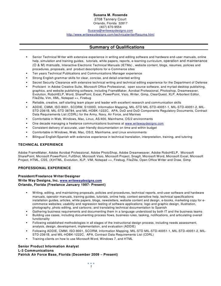 Susana Rosende 2009 Resume 2
