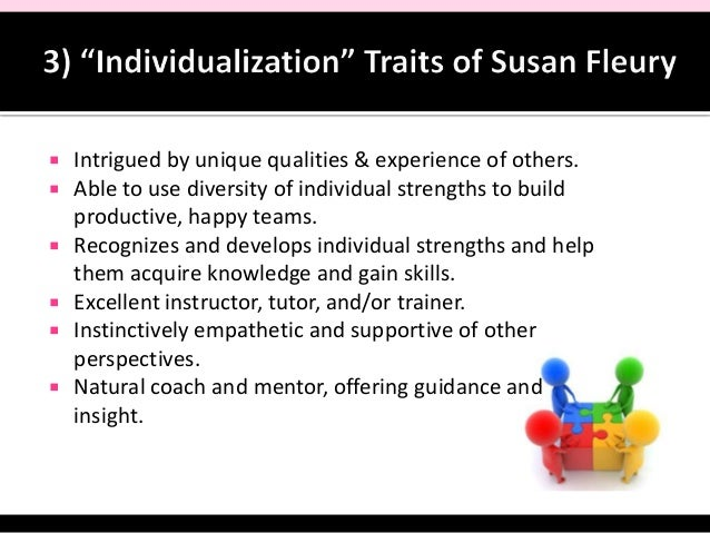 Susan Fleury: Top 5 Strengths