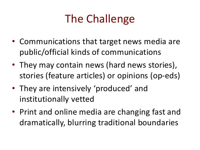 News media for awareness and advocacy in in livestock research for development Slide 2