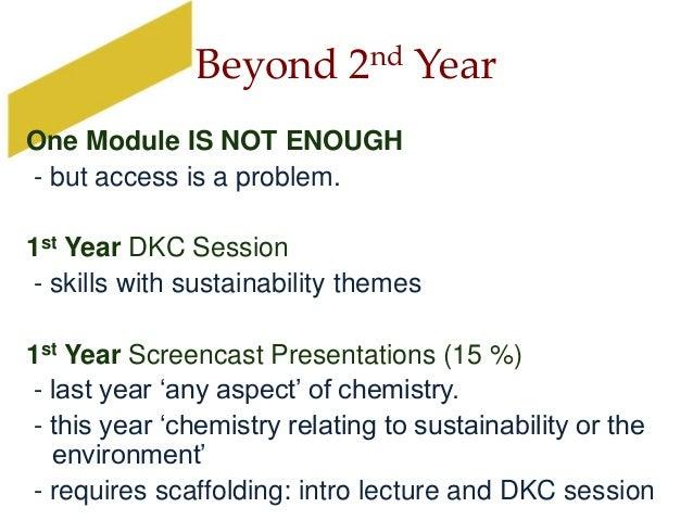 Sustainable Chemistry Keele January 2014