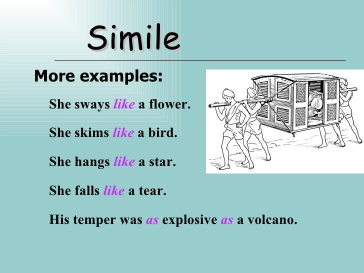 figure of speech examples – Figure of Speech Example Template