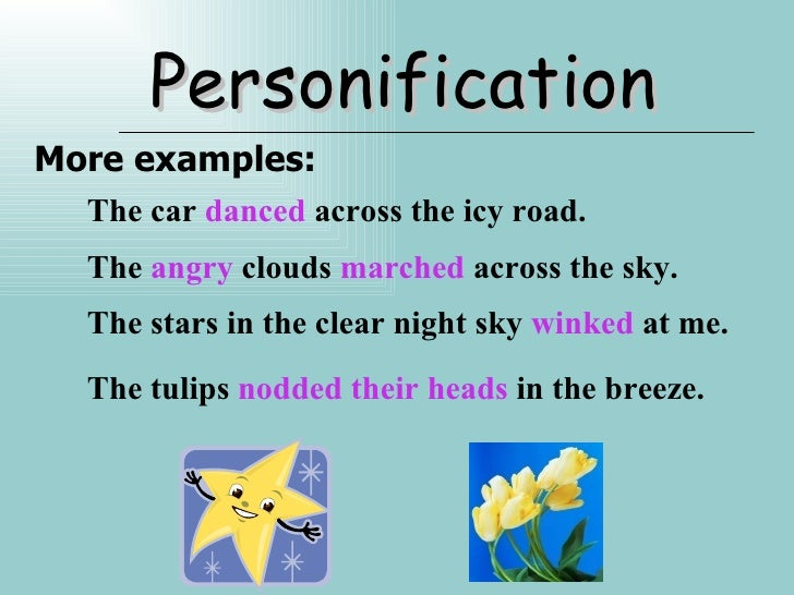 personification examples alisen berde personification examples