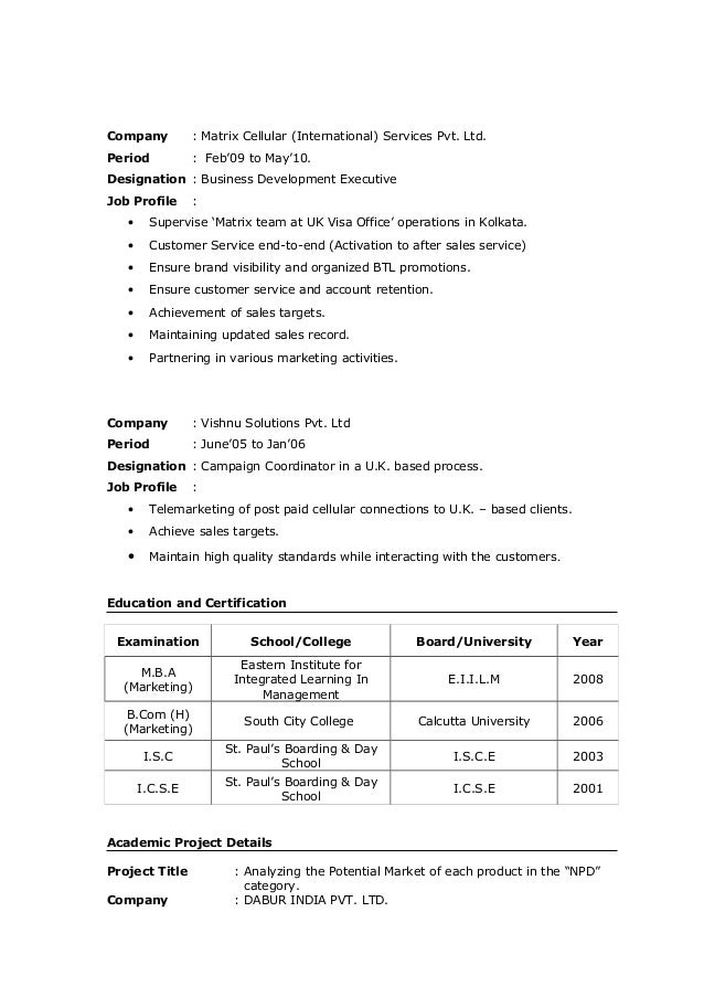 Sushmita Pareek Resume