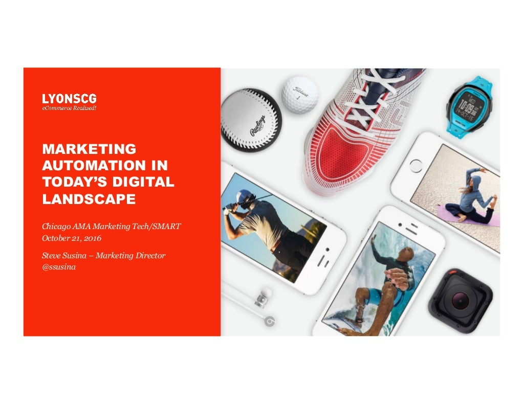 Marketing Automation in Today's Digital Landscape