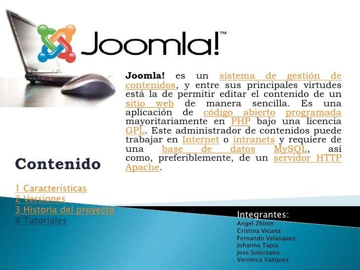 Joomla! es un sistema de gestión de contenidos, y entre sus principales virtudes está la de permitir editar el contenido d...