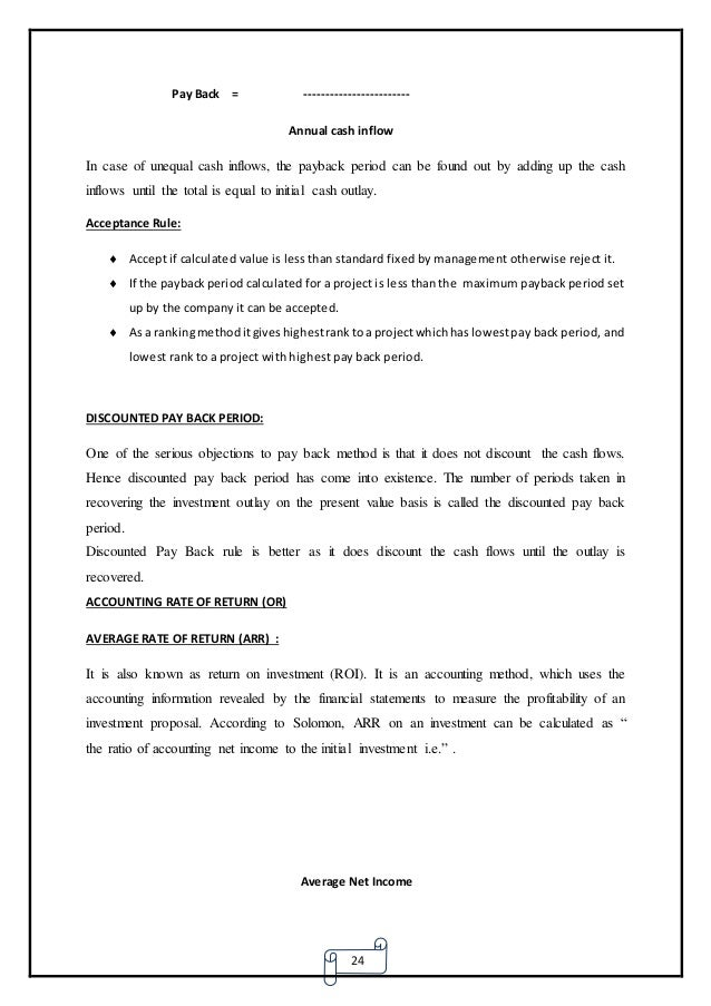 capital budgeting at bsnl – Discount Worksheets