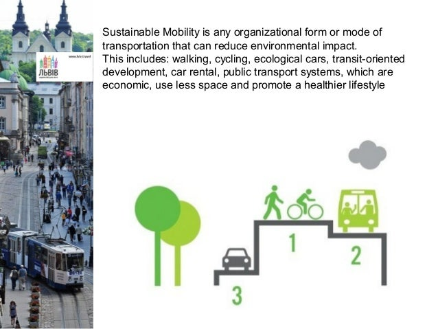 Sustainable mobility in Lviv Slide 2