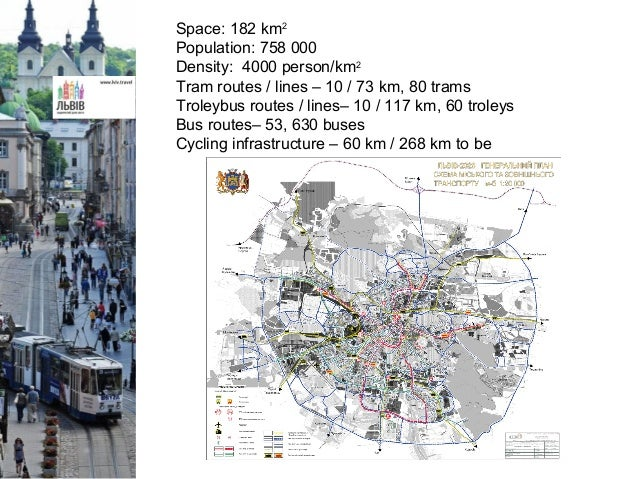 Sustainable mobility in Lviv Slide 3