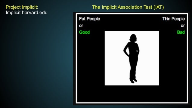 implicit association test harvard