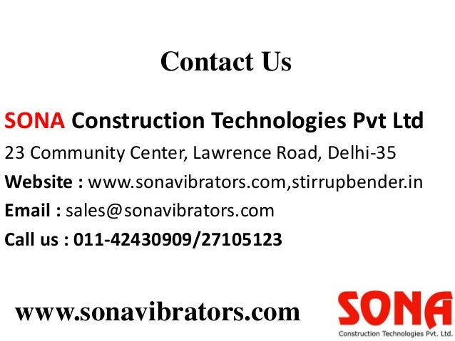 Suspended platform suppliers via sona vibrators - 웹