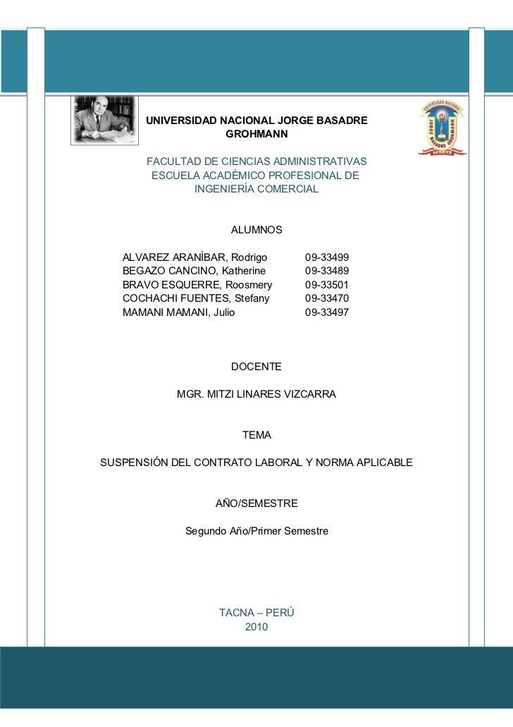 V              UNIVERSIDAD NACIONAL JORGE BASADRE                         GROHMANN             FACULTAD DE CIENCIAS ADMINI...