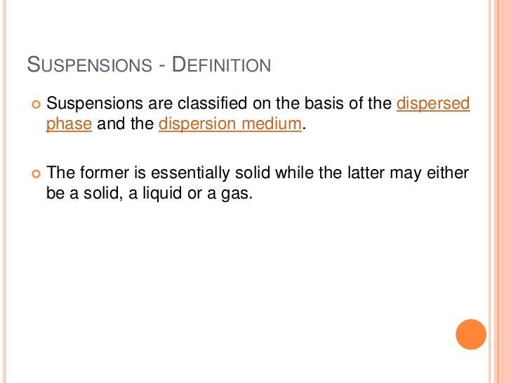 suspension definition 78382 mediabin. Black Bedroom Furniture Sets. Home Design Ideas