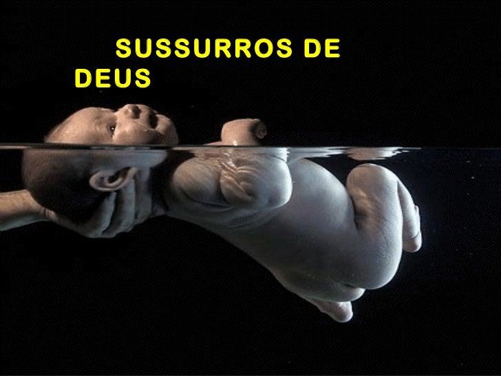 SUSSURROS DE DEUS