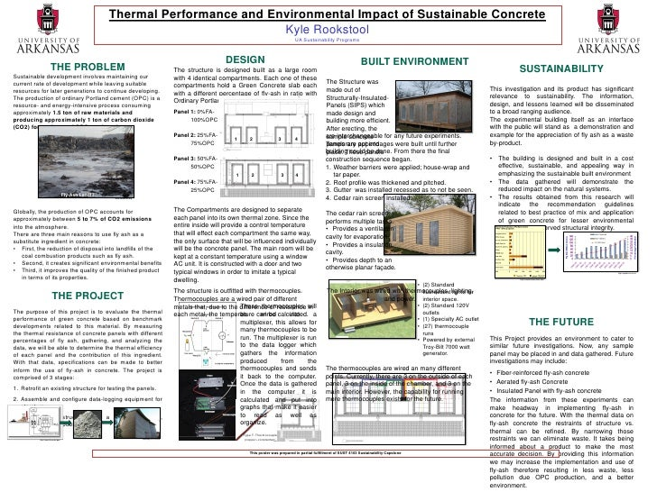 Thermal Performance and Environmental Impact of Sustainable Concrete                                                      ...
