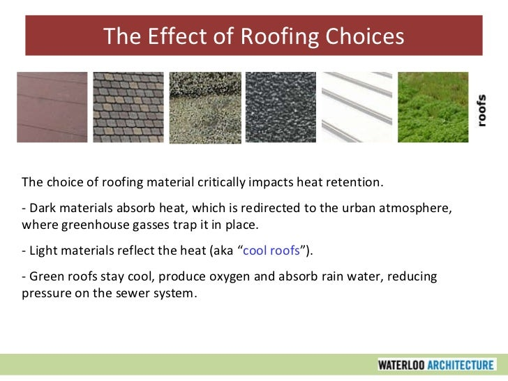 sustainable roof materials