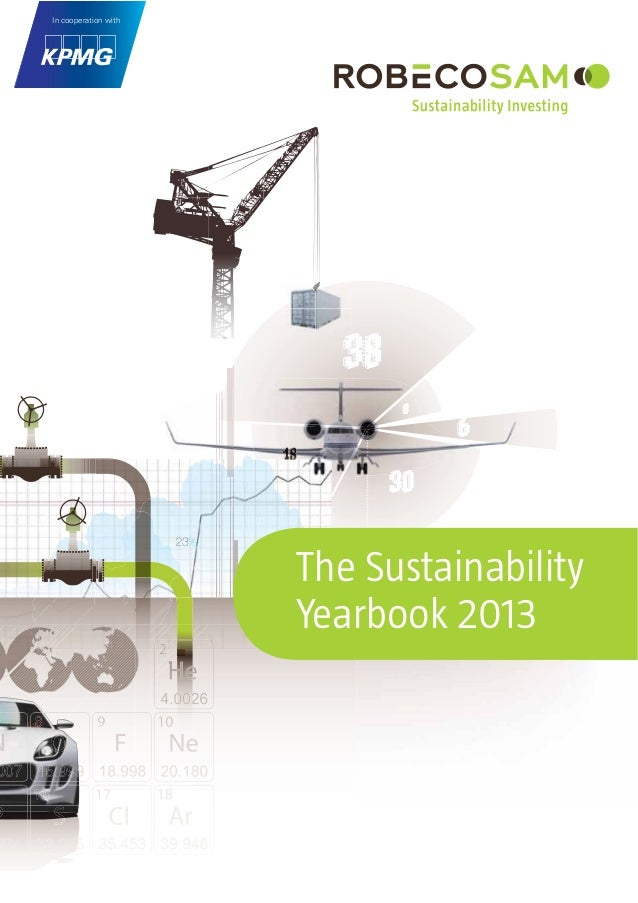 The Sustainability Yearbook 2013 In cooperation with