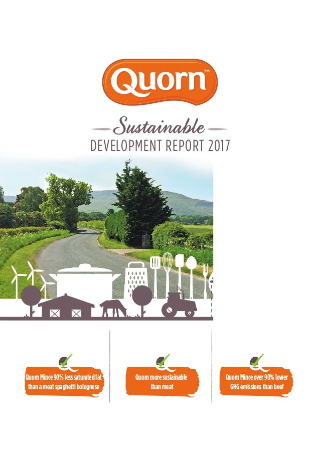 Quorn -Sustainability 2017 report