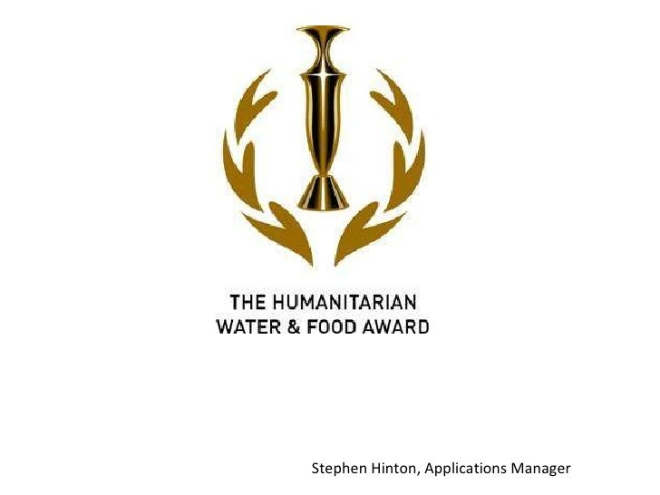 Stephen Hinton, Applications Manager