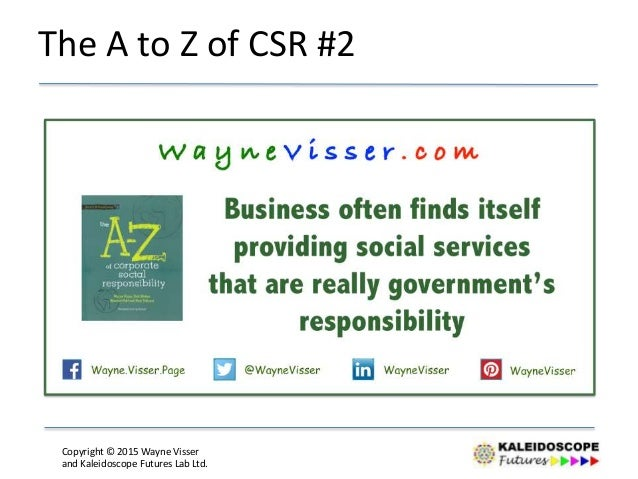 Quotes On Sustainability & Corporate Social Responsibility