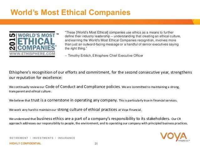 Building on the foundation of ethics and compliance to achieve sustai - Ethics compliance officer ...