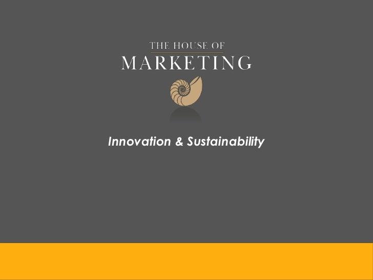 Innovation & Sustainability