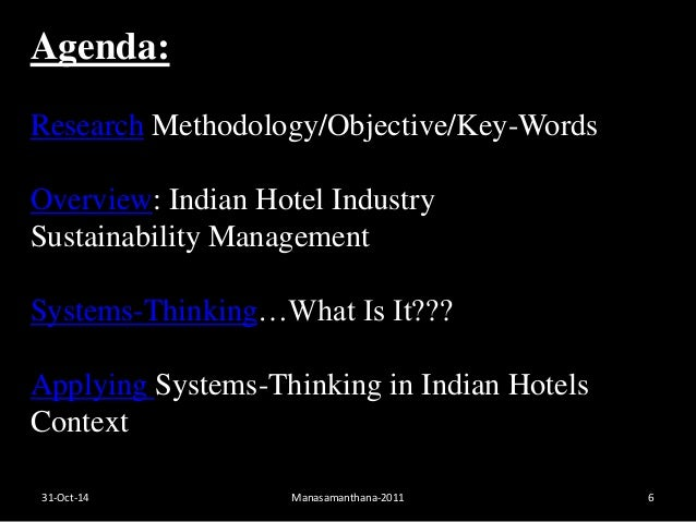 Hospitality industry experience research methodology