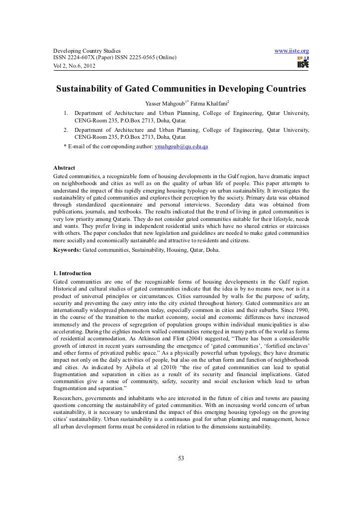 Developing Country Studies                                                                    www.iiste.orgISSN 2224-607X ...