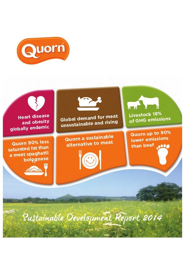 Sustainable alternative food Protein - Quorn ...