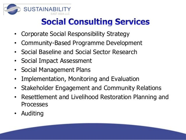 social impact management plan guideline